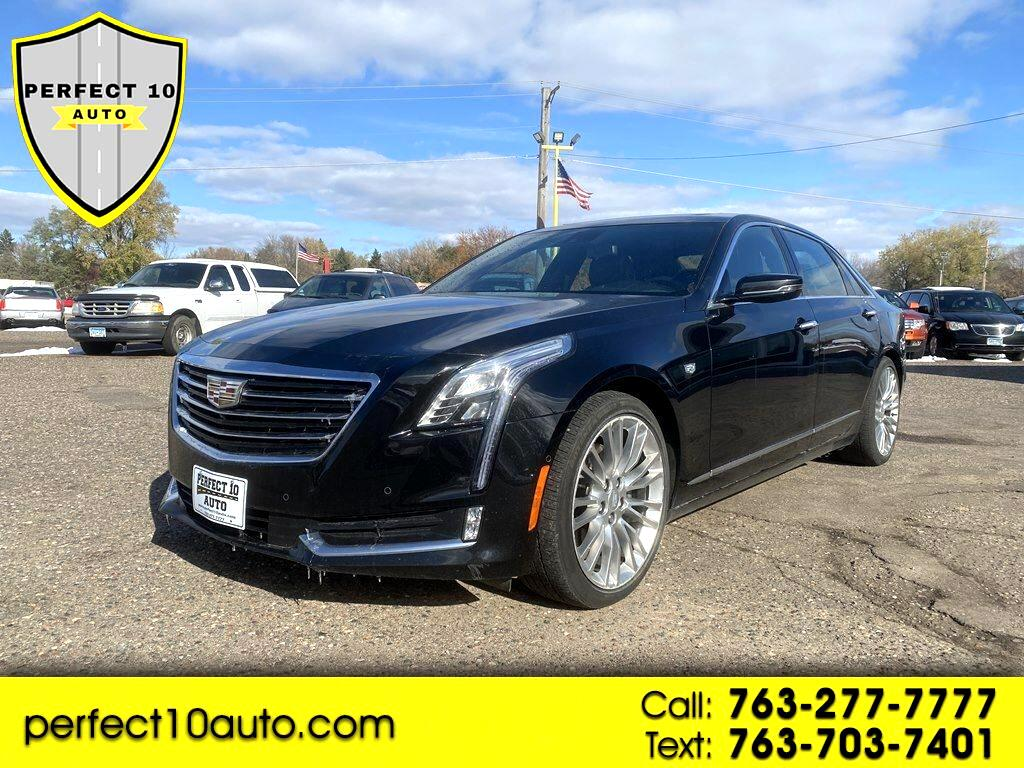 Cadillac CT6 4dr Sdn 3.0L Turbo Premium Luxury AWD 2017