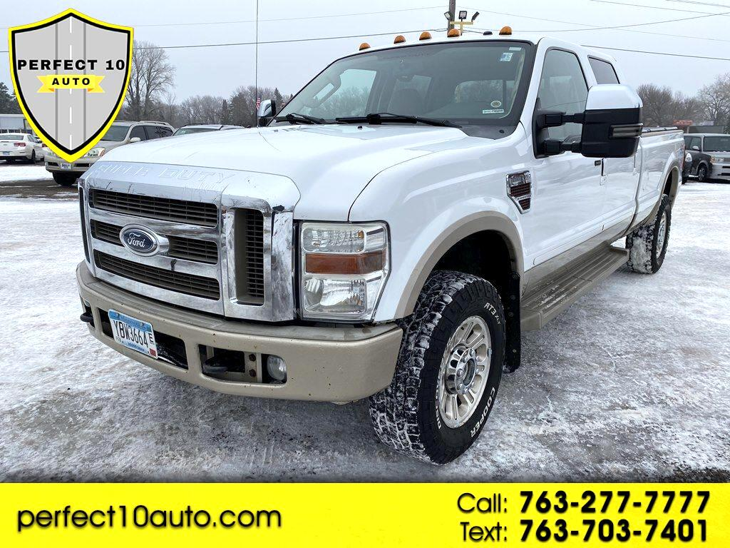 "Ford Super Duty F-350 SRW 4WD Crew Cab 172"" King Ranch 2008"