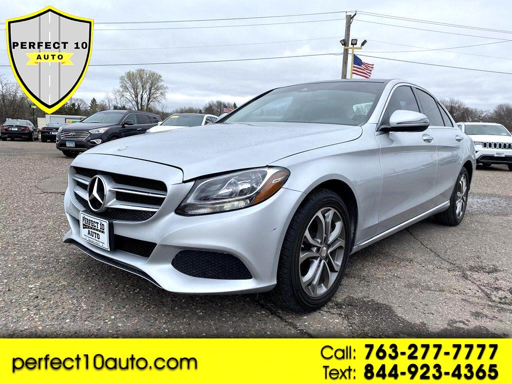 Mercedes-Benz C-Class C 300 4MATIC Sedan with Luxury Pkg 2016