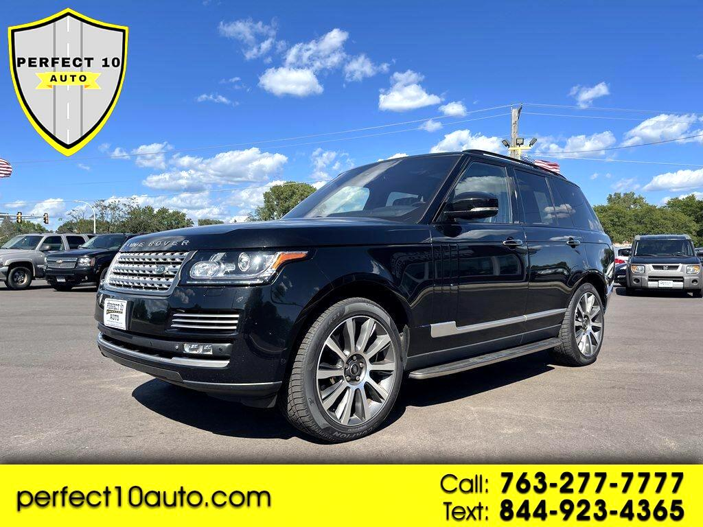 Land Rover Range Rover 4WD 4dr Supercharged Autobiography 2014