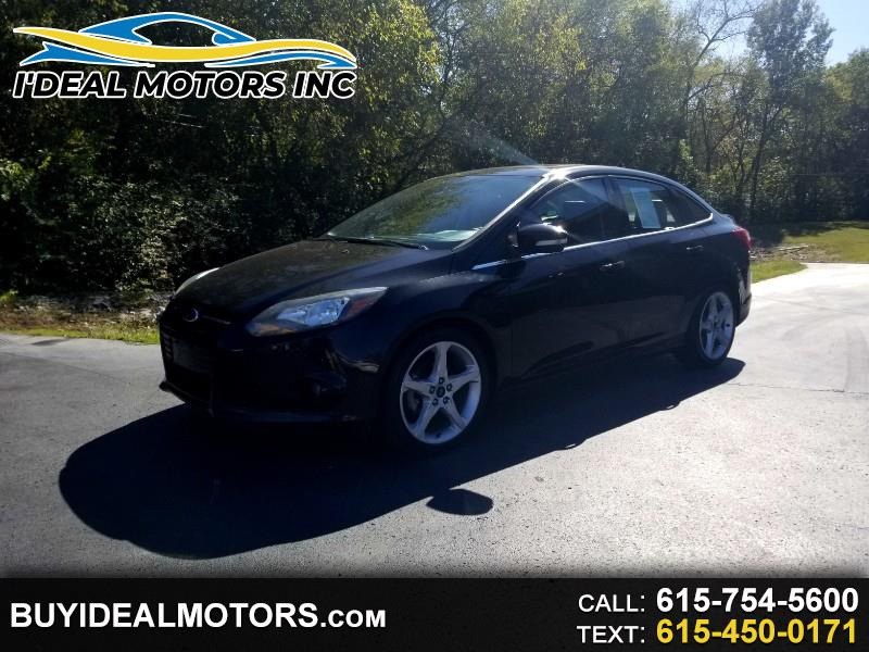 Ford Focus Titanium Sedan 2014
