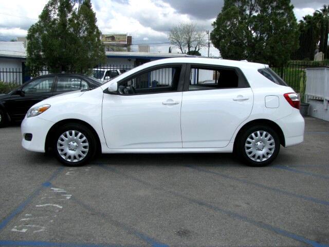 2009 Toyota Matrix Base 4-Speed AT