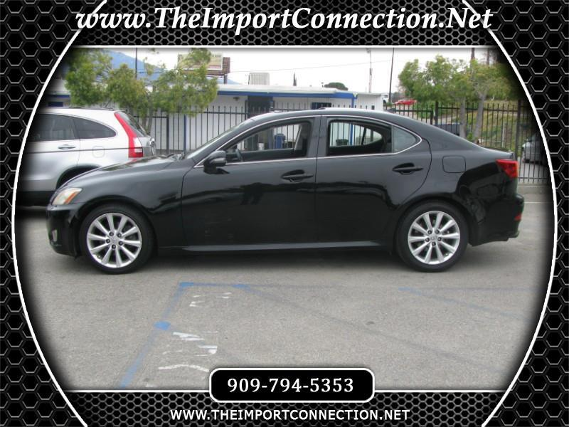 2010 Lexus IS 250 4dr Sport Sdn Man RWD