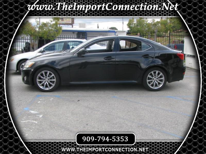 2008 Lexus IS 250 4dr Sport Sdn Auto RWD