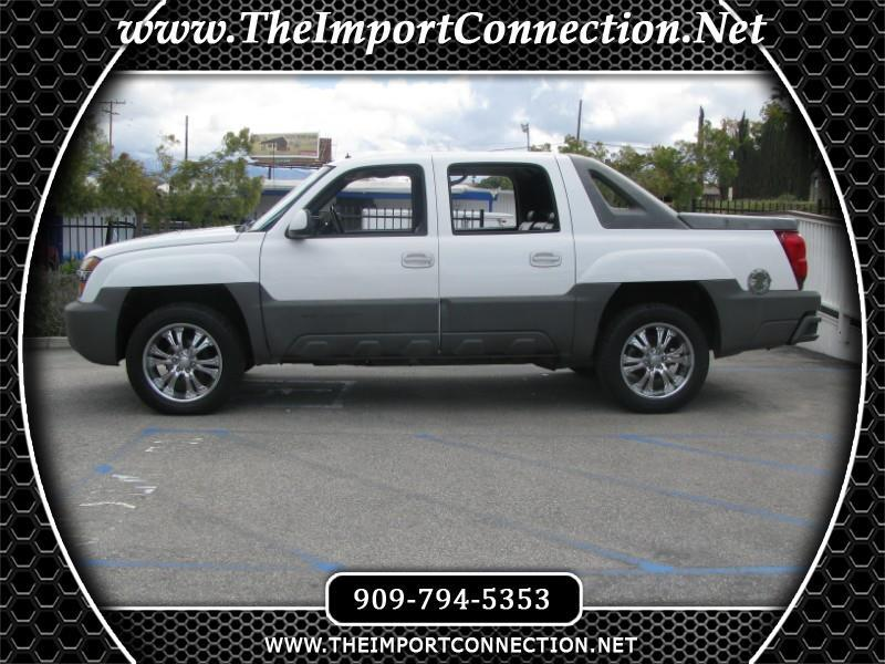 2002 Chevrolet Avalanche 1500 5dr Crew Cab 130