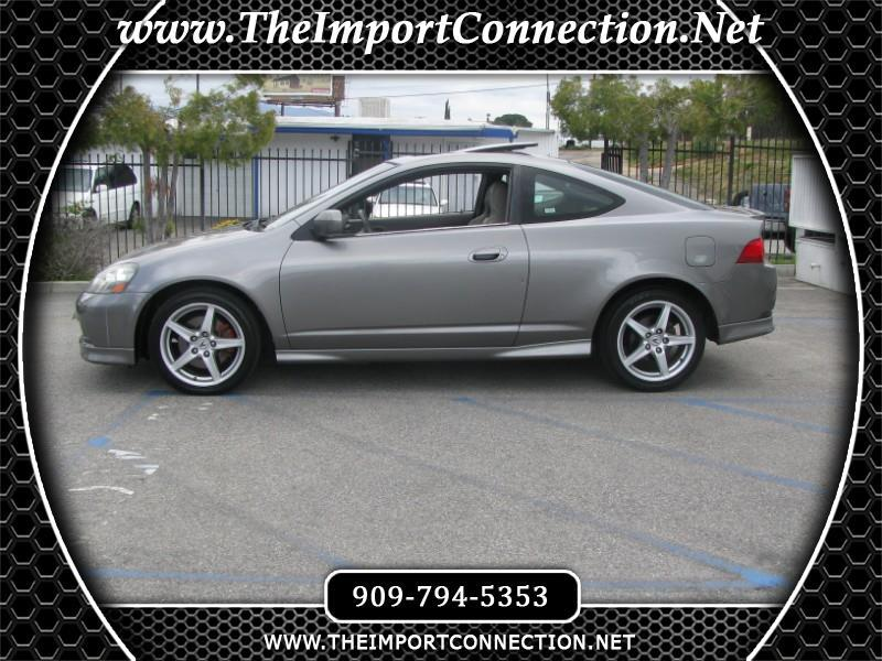 2005 Acura RSX 2dr Cpe Type-S 6-spd MT Leather