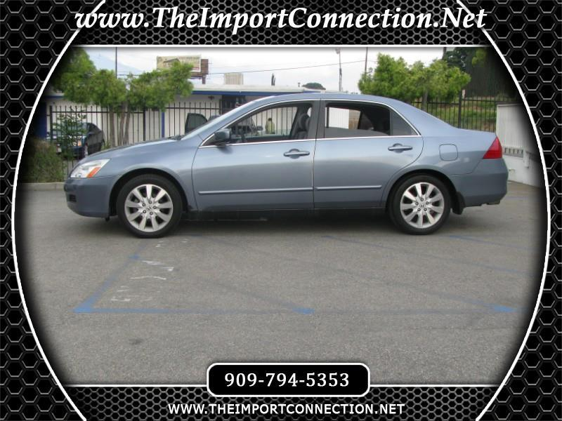 2007 Honda Accord Sdn 4DR V6 AT EX