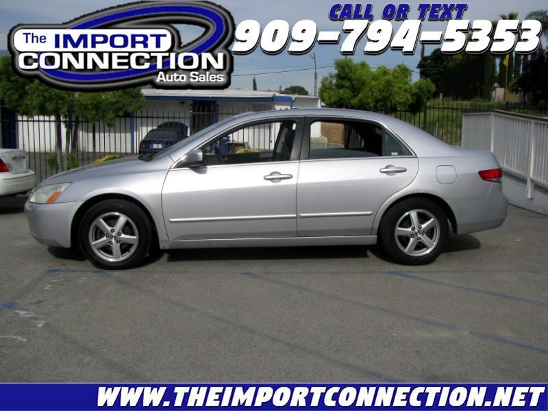 2004 Honda Accord Sdn EX Auto