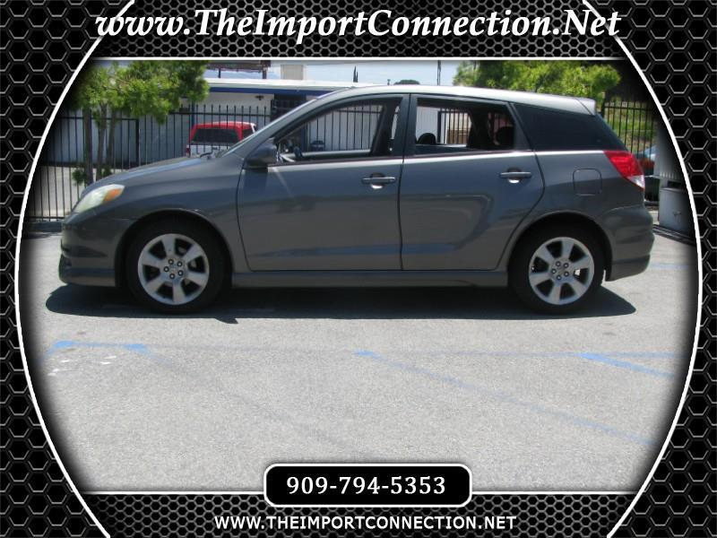 2004 Toyota Matrix 5dr Wgn XRS 6-Spd Manual (Natl)