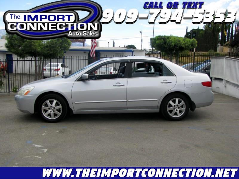 Honda Accord Sdn EX-L V6 AT with NAVI 2005