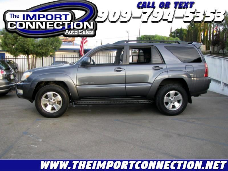 Toyota 4Runner 4dr Limited V8 Auto 4WD (Natl) 2005