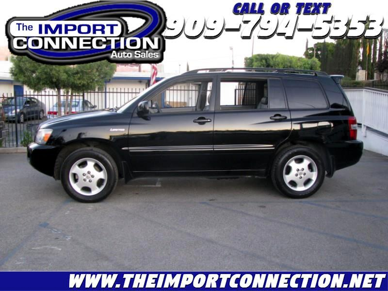 Toyota Highlander 4dr V6 Limited w/3rd Row (Natl) 2006