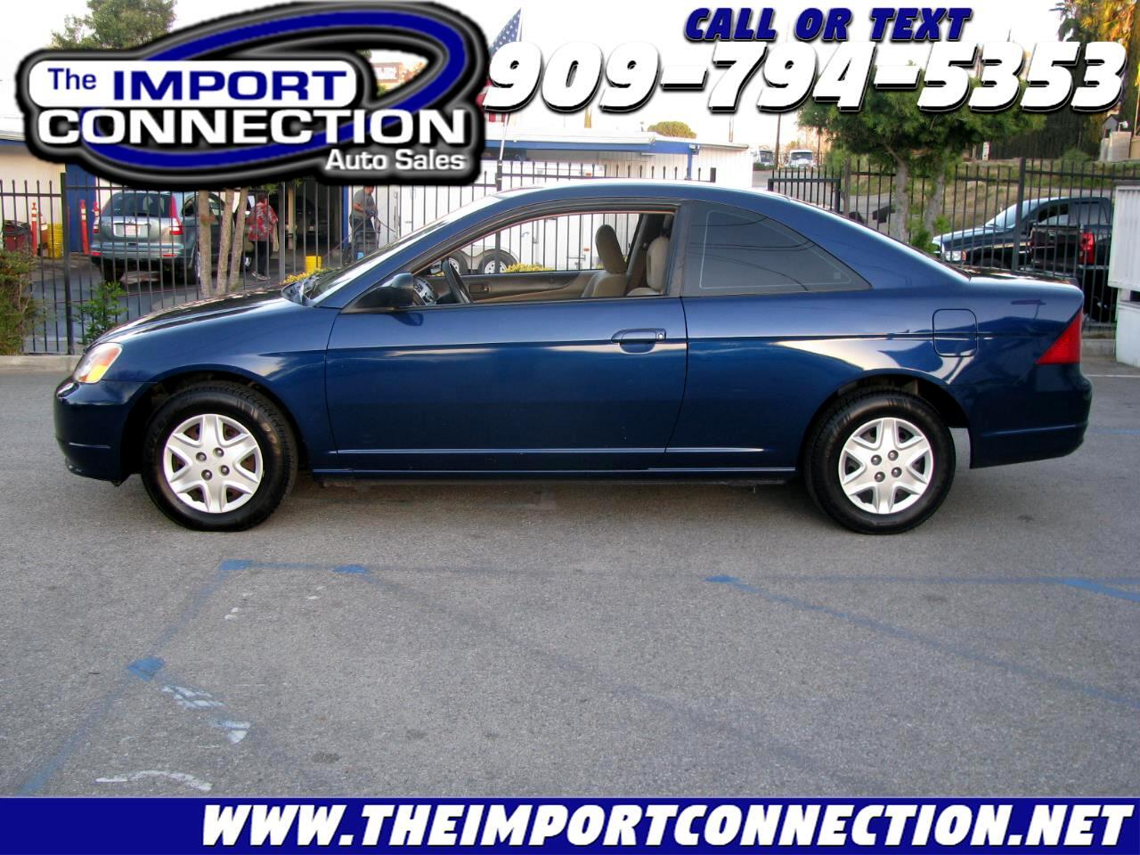 Honda Civic 2dr Cpe LX Auto 2003