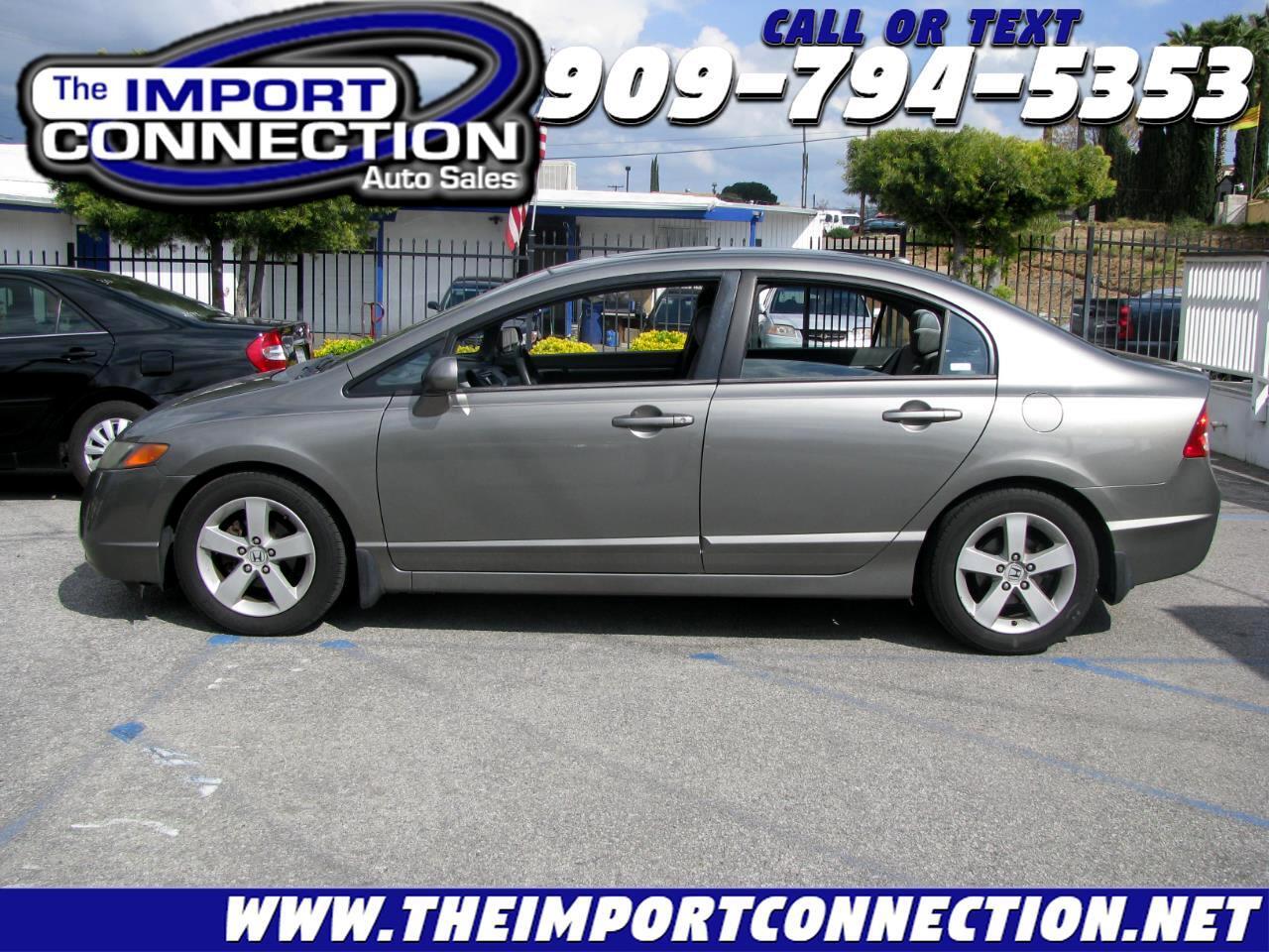 Honda Civic Sdn 4dr AT EX 2007