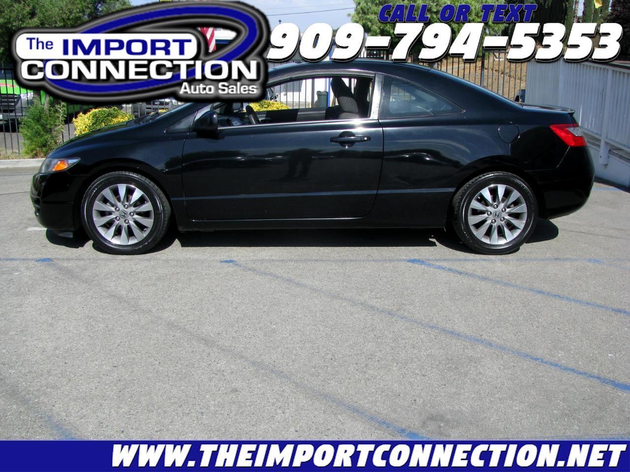 Honda Civic Cpe 2dr Auto EX 2010
