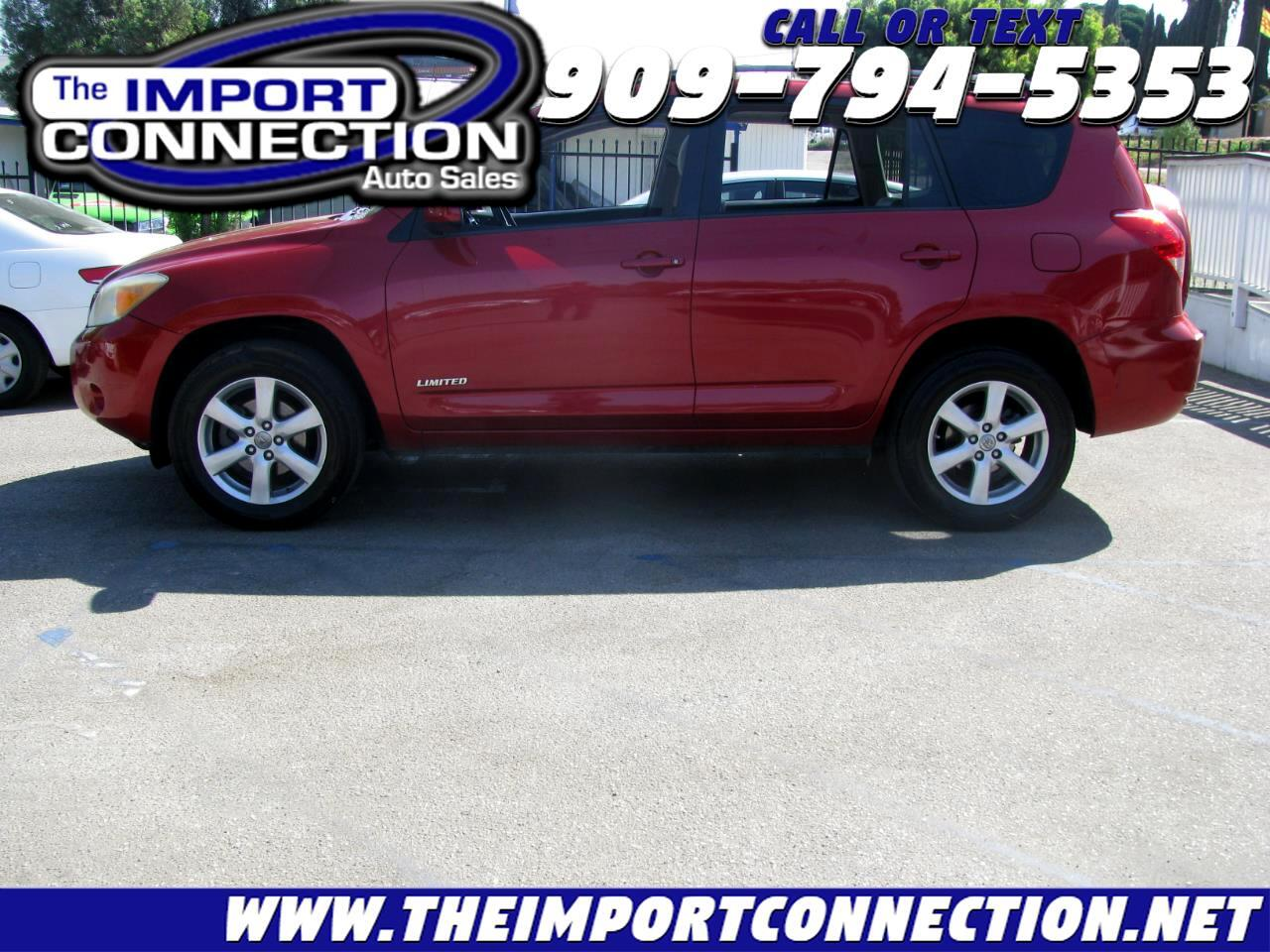 Toyota RAV4 FWD 4dr V6 5-Spd AT Ltd (Natl) 2008