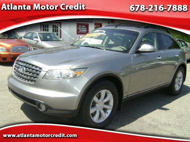 2004 INFINITI FX35  for sale VIN: JNRAS08W04X210201
