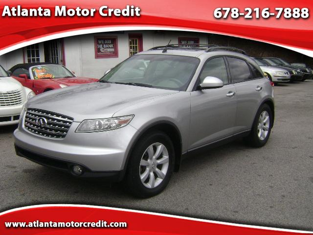 2004 INFINITI FX35  for sale VIN: JNRAS08U64X106486