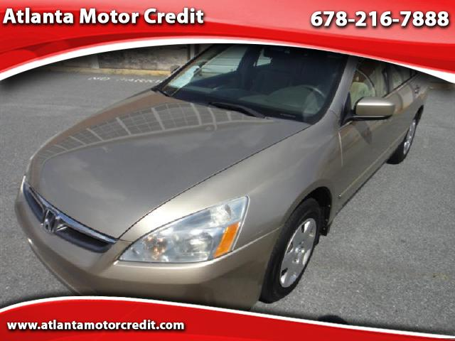 2006 Honda Accord LX AT PZEV
