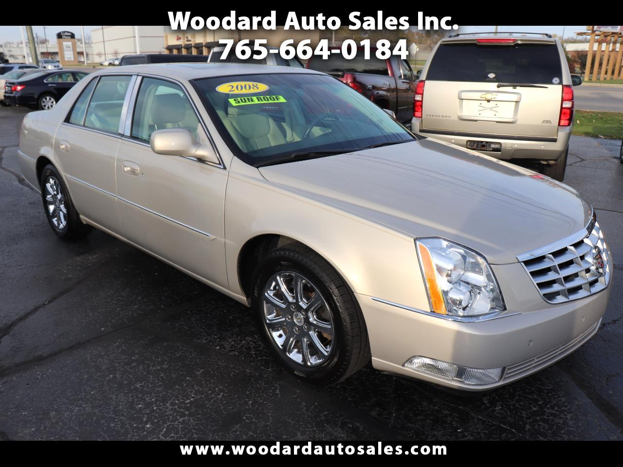 Cadillac DTS 4dr Sdn w/1SC 2008