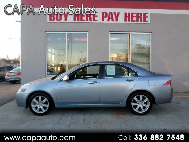 2004 Acura TSX 5-speed AT