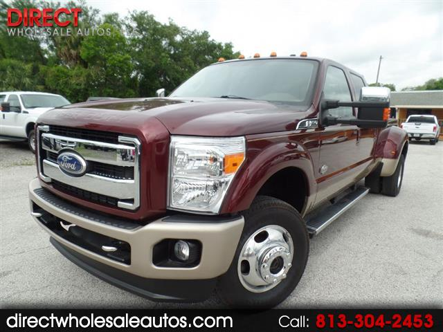 2011 Ford F-350 KING RANCH 4X4 DIESEL
