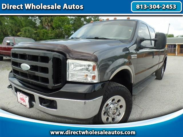 2005 Ford F-250 4x4 5.4L *GAS* CREW CAB LONG BED