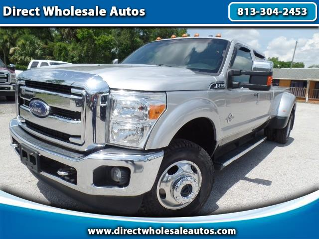 2015 Ford F-350 SD LARIAT 4x4 DIESEL DUALLY