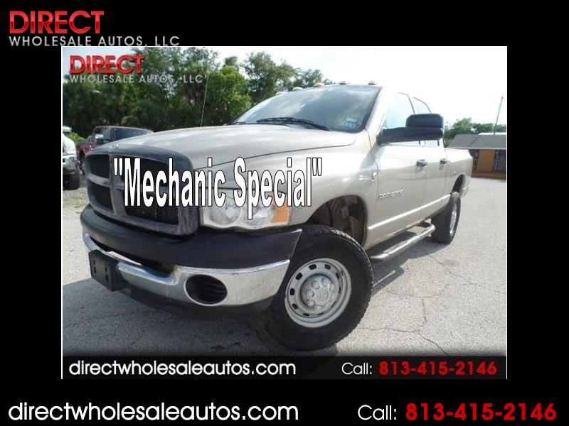 2004 Dodge Ram 2500 4X4 DIESEL CREW CAB *MECHANICS SPECIAL*IDLES ROUGH