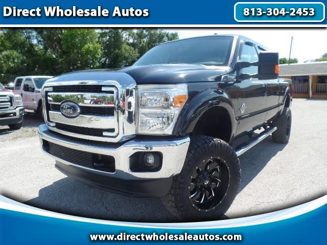 2013 Ford F-250 LARIAT 4X4 DIESEL FX4 OFF ROAD CREW CAB LONG BED