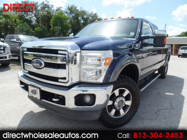 2011 Ford F-350 LARIAT 4X4 CREWCAB LONG BED *GASOLINE* 6.2L