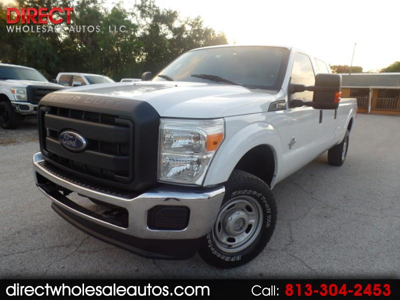 2013 Ford F-250 4X4 DIESEL CREW CAB LONG BED