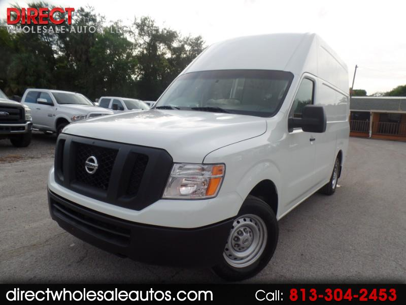 2017 Nissan NV Cargo 2500 HD SV V6 High Roof