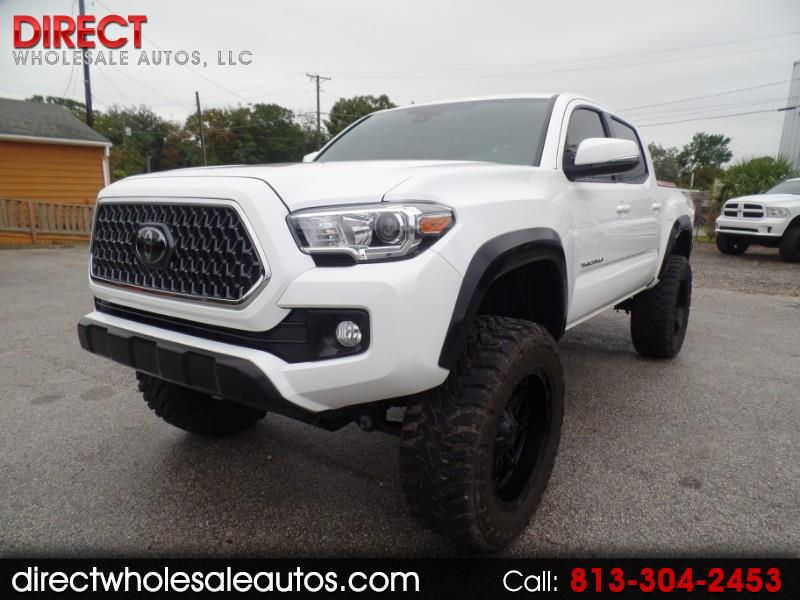 2018 Toyota Tacoma TRD Offroad 4X4 DOUBLE CAB 6 SPEED