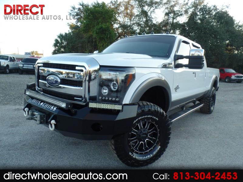 2012 Ford F-250 LARIAT 4X4 DIESEL CREW CAB W/ TOW PACKAGE