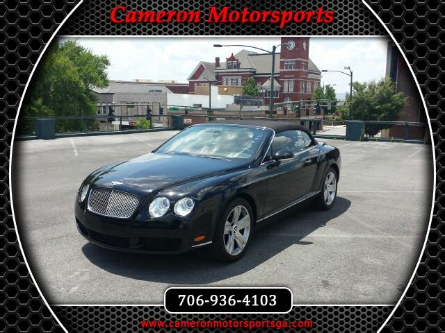 Bentley Continental GTC Convertible 2007