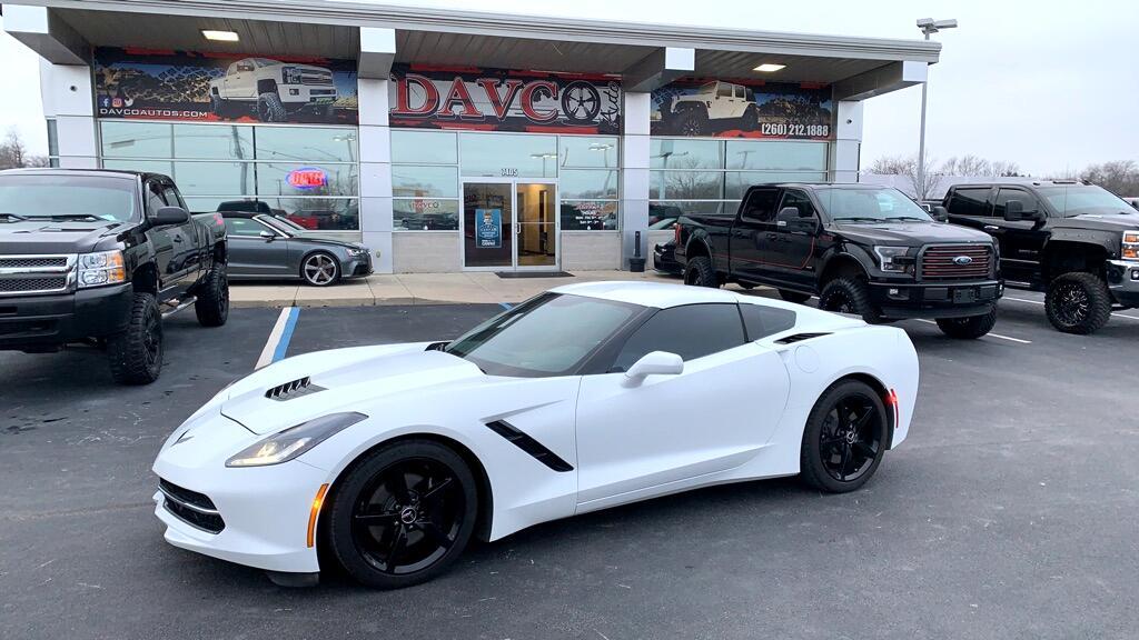 2014 Chevrolet Corvette Stingray 2dr Cpe w/3LT