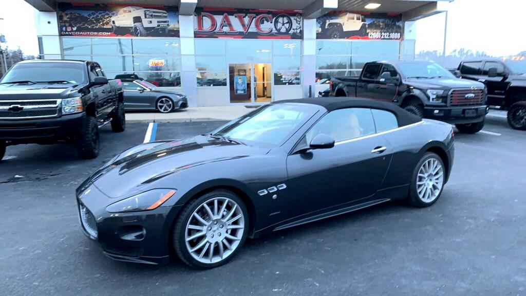 2012 Maserati GranTurismo Convertible 2dr Conv GranTurismo Sport