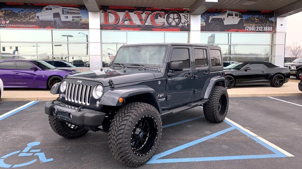 2018 Jeep Wrangler JK Unlimited Sahara 4x4