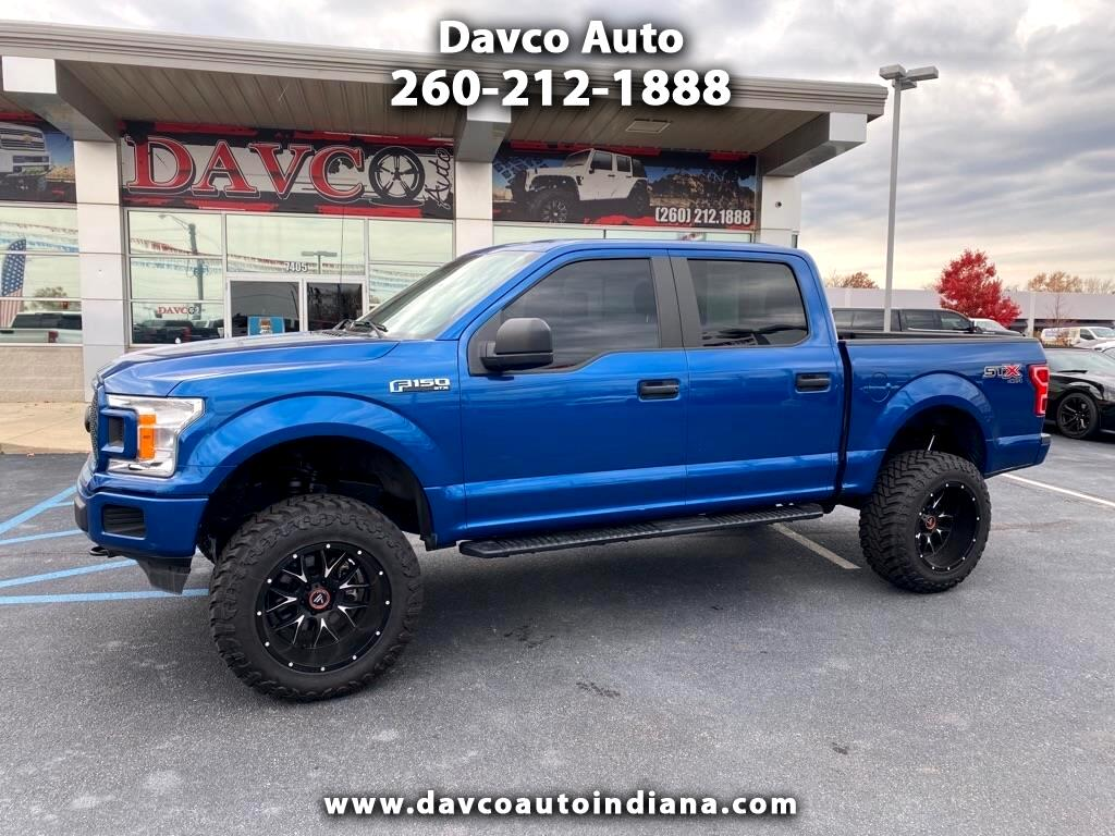 Ford F-150 XLT SuperCrew Short Box 4WD 2018