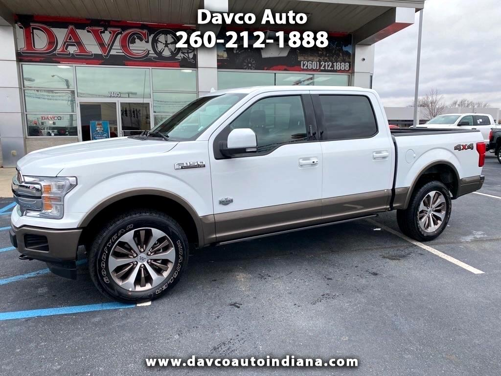"""Ford F-150 4WD SuperCrew 145"""" King Ranch 2019"""