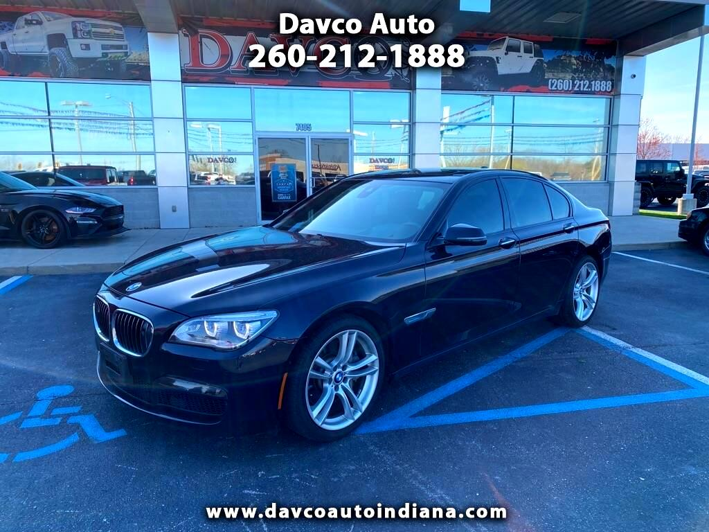 BMW 7 Series 4dr Sdn 750i xDrive AWD 2013