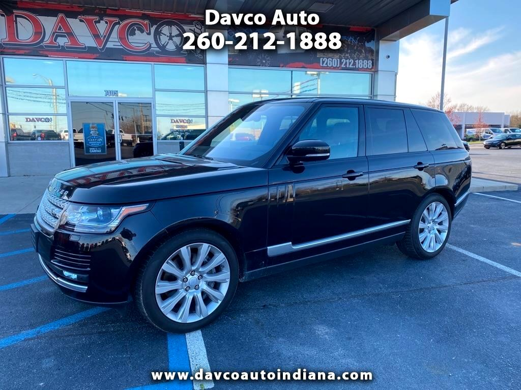 Land Rover Range Rover V6 Supercharged HSE SWB 2017