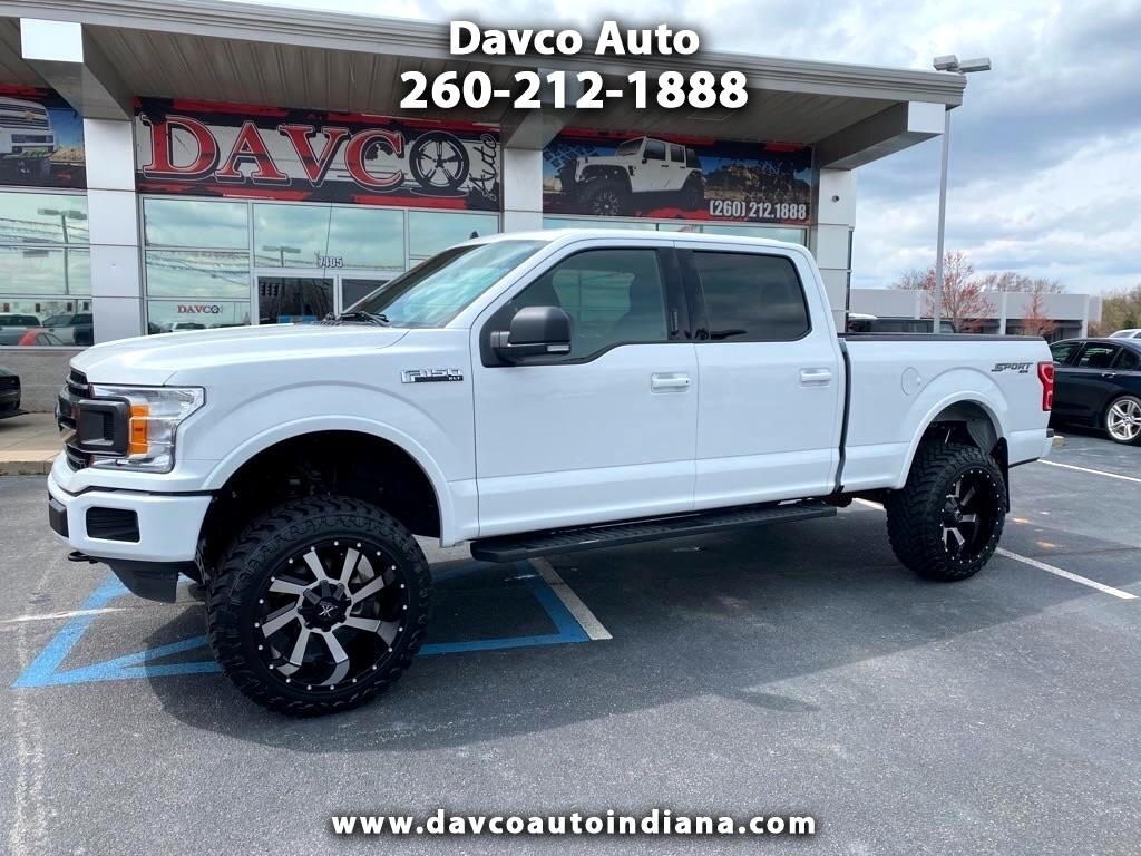 """Ford F-150 4WD SuperCrew 157"""" XLT w/HD Payload Pkg 2019"""