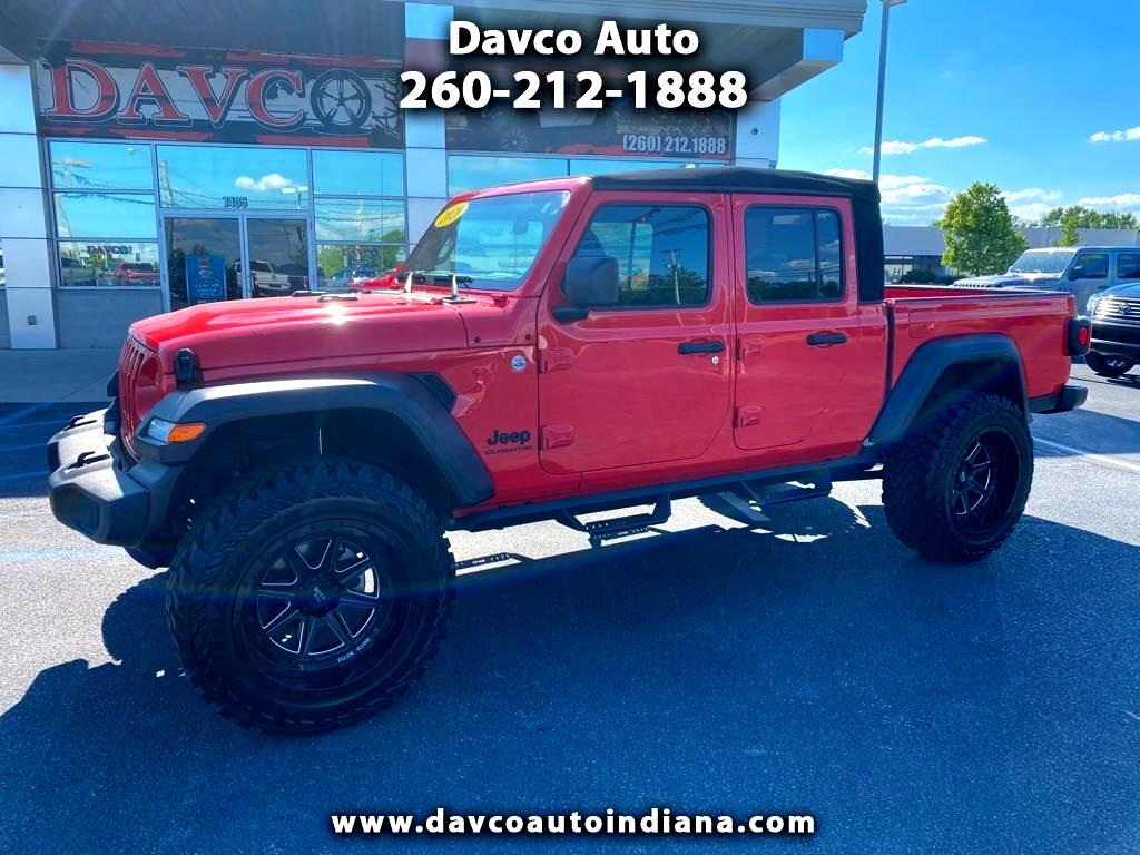Used 2020 Jeep Gladiator Sport S 4x4 For Sale In Fort Wayne In