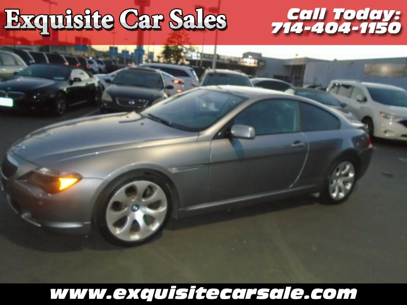BMW 6-Series 650i Coupe 2007