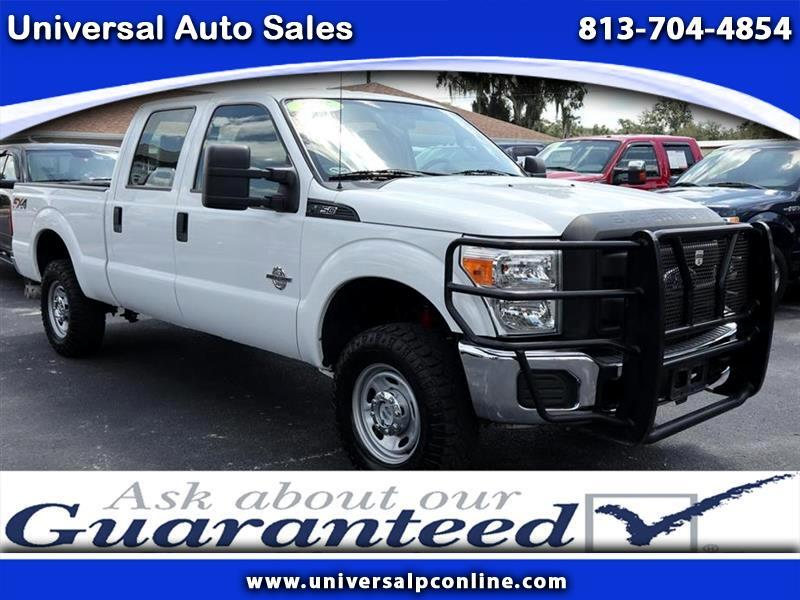 2015 Ford F-250 SD XL Crew Cab 4WD