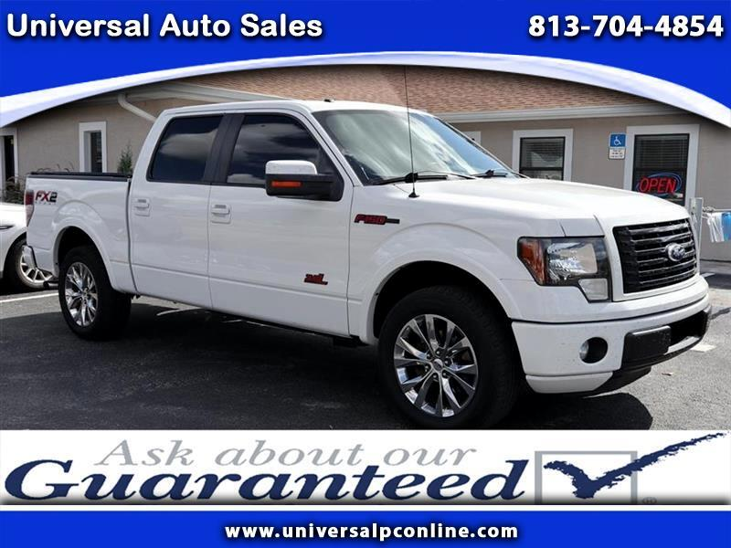 2012 Ford F-150 FX2 SuperCrew 6.5-ft. Bed 2WD