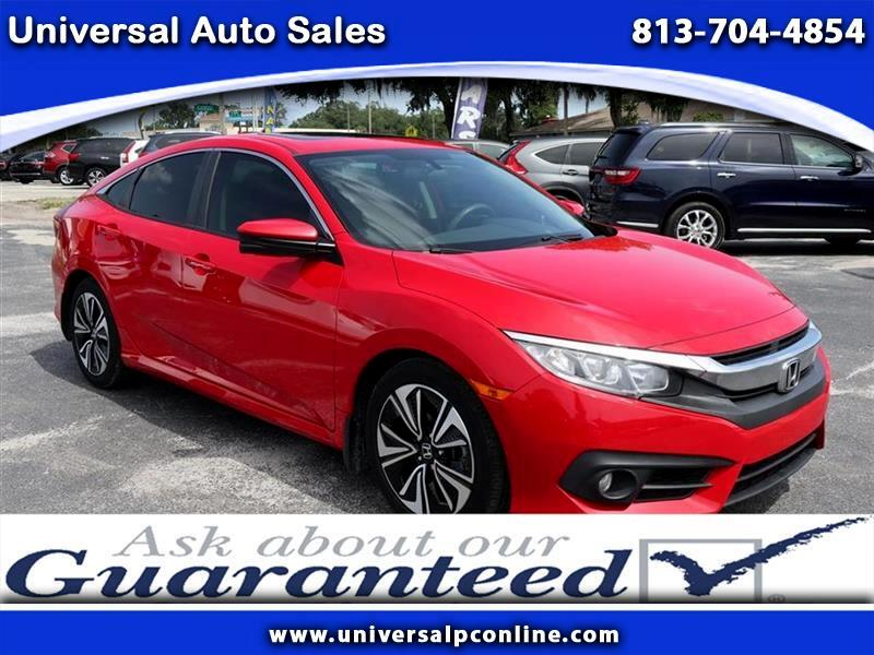 Honda Civic EX-T Sedan CVT 2017