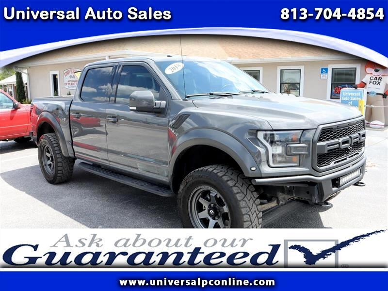 Ford F-150 Raptor SuperCrew 4WD 2018